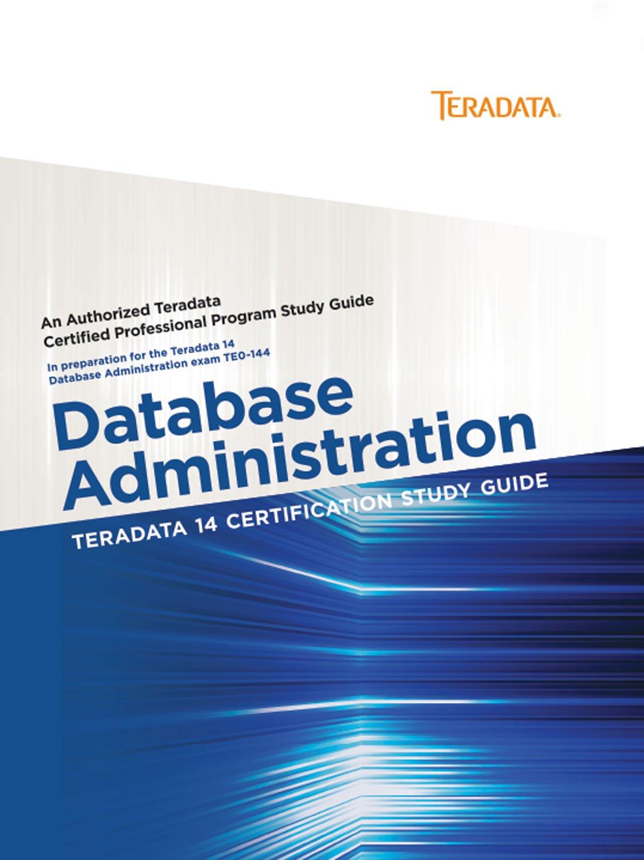 Amazon Buy Teradata 14 Certification Study Guide Database