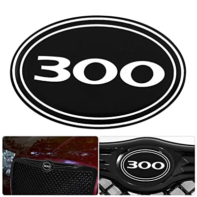 Rxmotor 300 300C Front Grille Grill B Logo Emblem Gel Sticker Replacement (300): Automotive