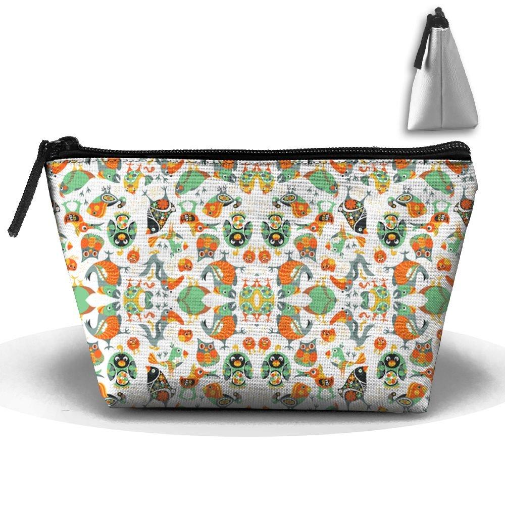 699714beb2 Birds Pattern 2 Wallpaper - Nellik - Spoonflower Cosmetic Bag ...