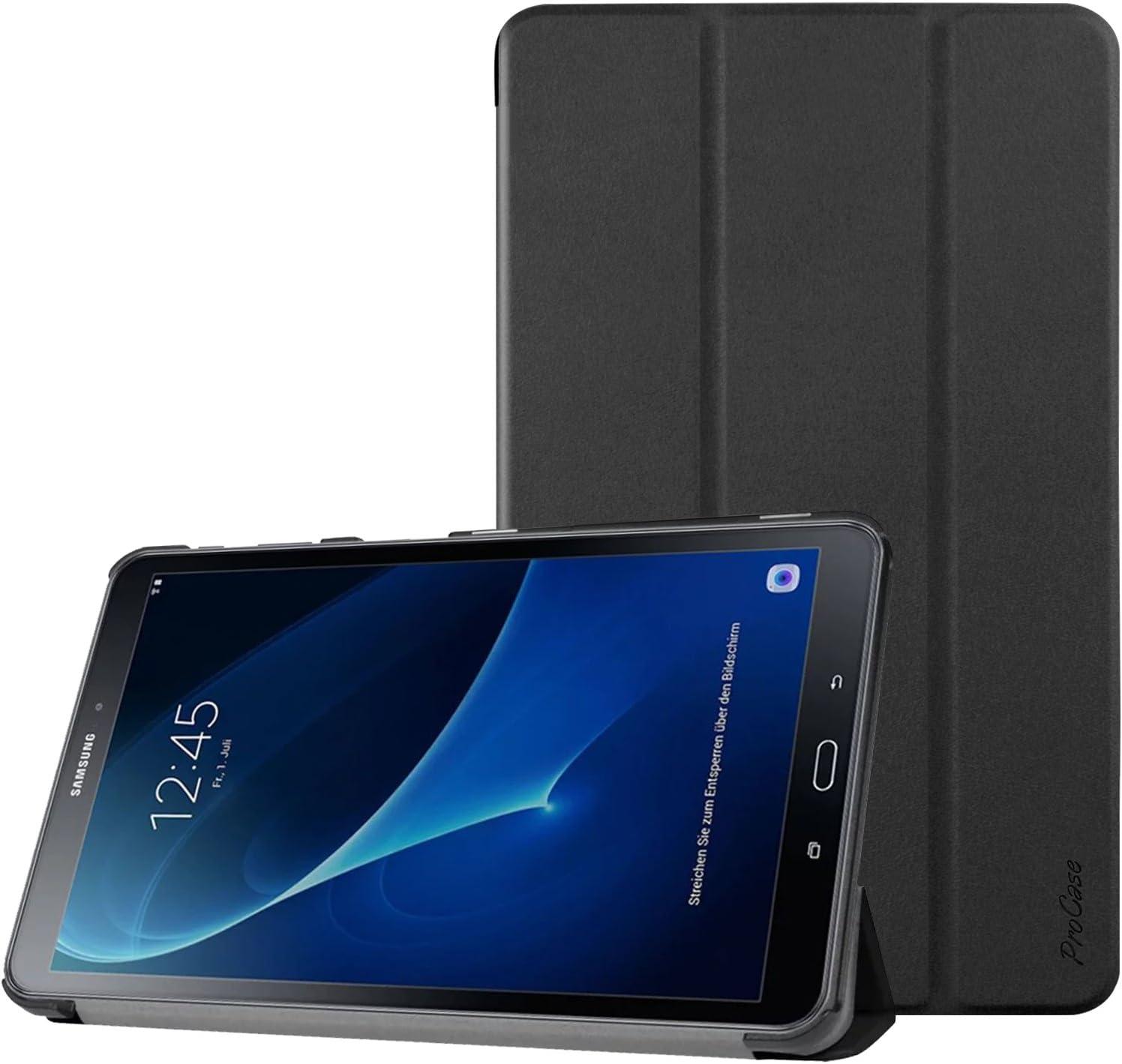 Procase Hülle Für Galaxy Tab A 10 1 Slim Smart Cover Elektronik