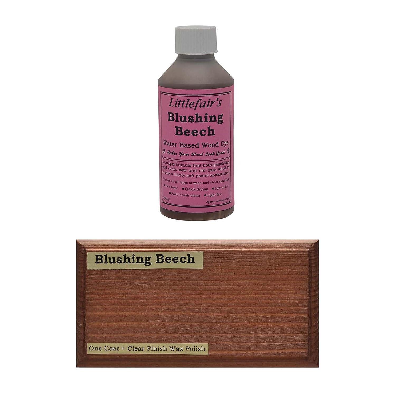 Littlefair' s Water Based Wood Dye - Pastel Range (Tester Pot, Sensual Soft White) Littlefair' s