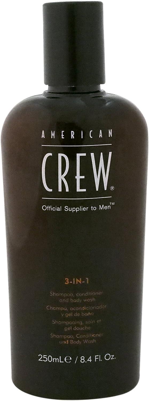 American Crew Classic 3in1 Shampoo Plus Conditioner, 8.4 Ounce
