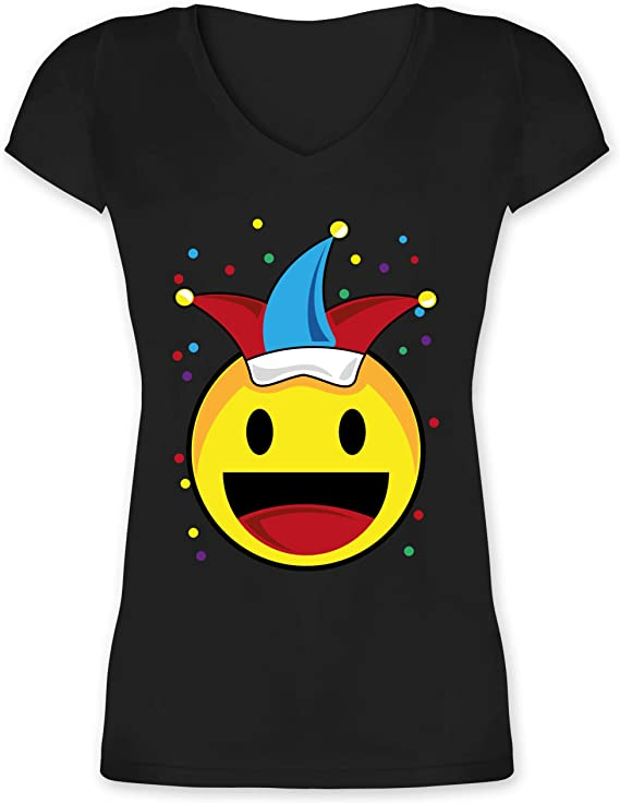 Baby T-Shirt Kurzarm Konfetti im Herzen Shirtracer schwarz Karneval und Fasching Baby