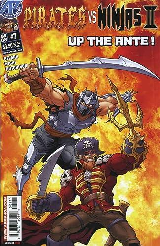 Amazon.com: Pirates vs. Ninjas (Vol. 2) #7 FN ; Antarctic ...