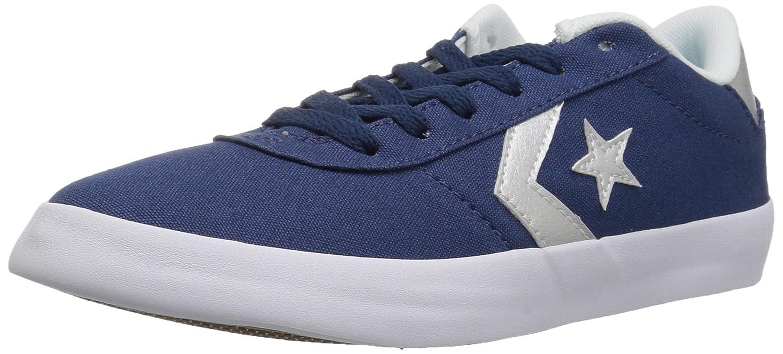 Converse Women's Point Star Low Top Sneaker B07CQ8Y1HW 5.5 M US|Mason Blue/White/Silver