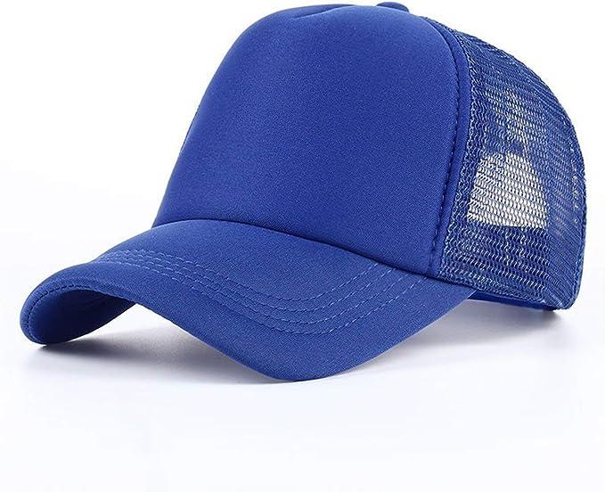 Gorras De Béisbol para Hombre para Verano Hombre Liso Primavera ...