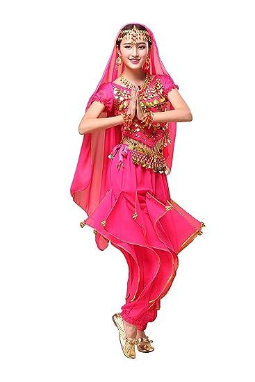 Amazon com: Feimei Woman Exotic Jasmine Belly Dance Costume