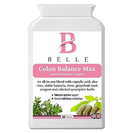 Belle® - Colon Balance suplemento Max - Anti-Candida, intestino sano y fórmula