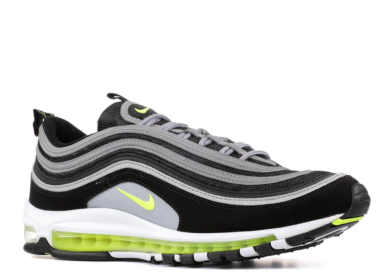 Nike Herren Air Max 97 Sneaker  13|Black, Volt-metallic Silver