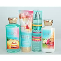 Bath and Body Works Endless Weekend Gift Set of Shower Gel, Body Cream, Body Lotion...