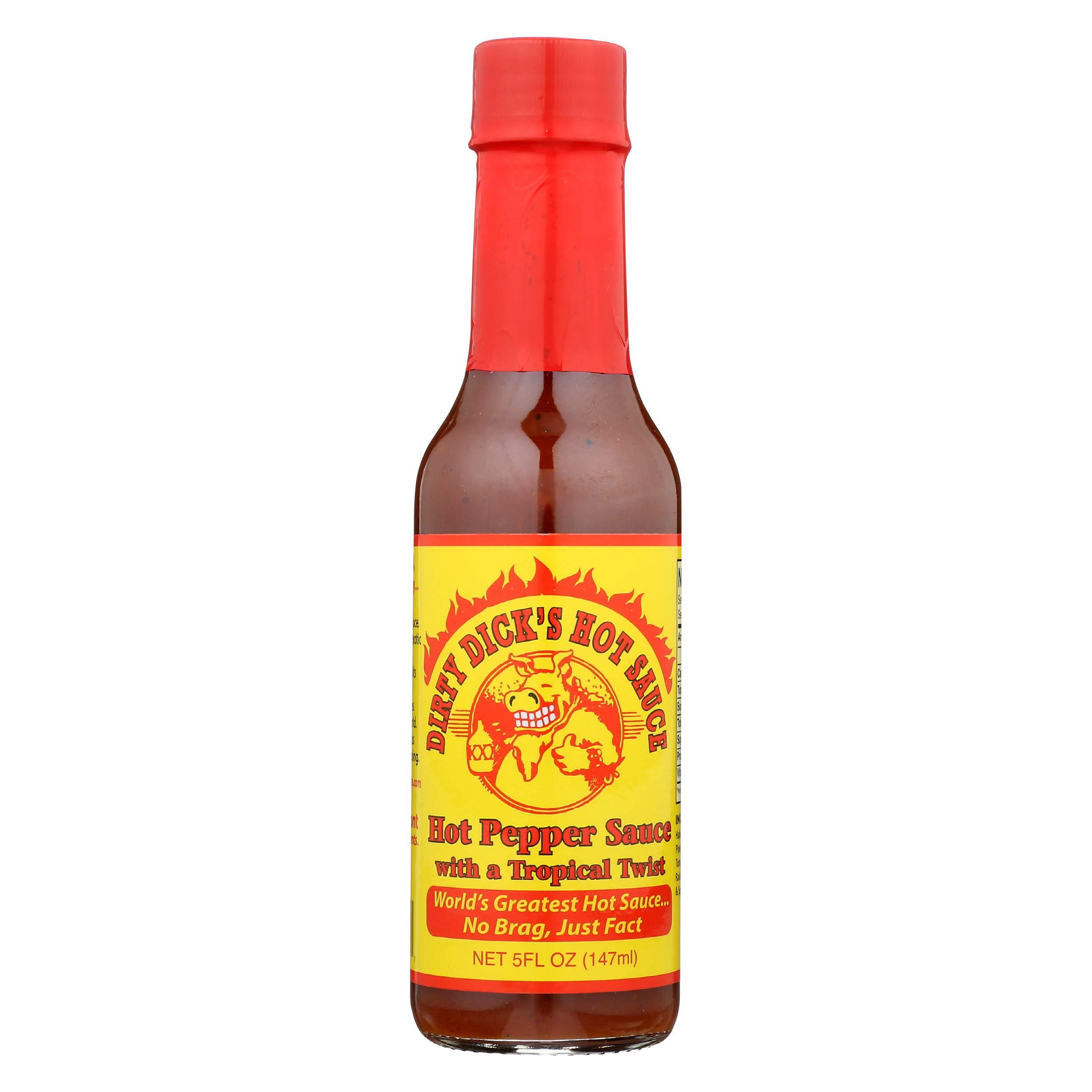 DIRTY DICKS Hot Sauce, 5 FZ