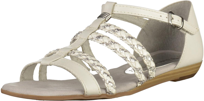 4ec5c65678 Tamaris 1-1-28108-28 028-028 - Sandalias de Vestir de Piel para Mujer   Amazon.es  Zapatos y complementos