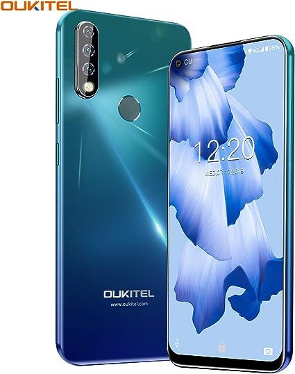 OUKITEL C17 Pro 4G LTE Smartphone Libres Android 9 Pie Teléfono Inteligente Dual SIM 6.35