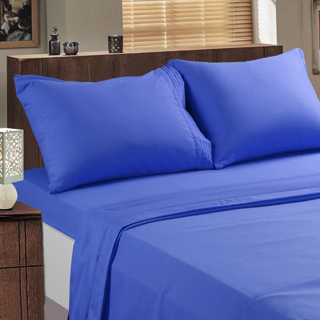 Tekamon 100% Polyester Bed Sheets