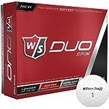 Wilson Duo Spin Golf Ball 12-Ball Pack