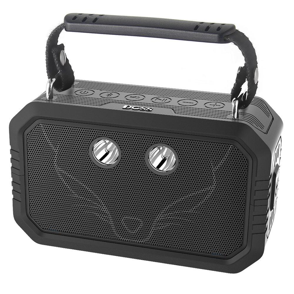 DOSS Portable Waterproof IPX6 Bluetooth Speaker
