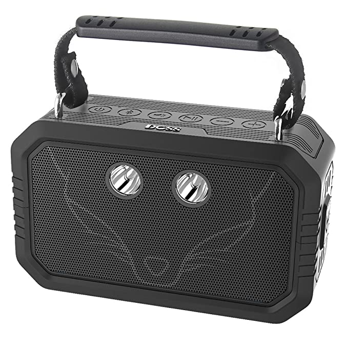 DOSS Wireless Portable Bluetooth Speakers With Waterproof IPX6, 20W Stereo  Sound And Bold Bass,