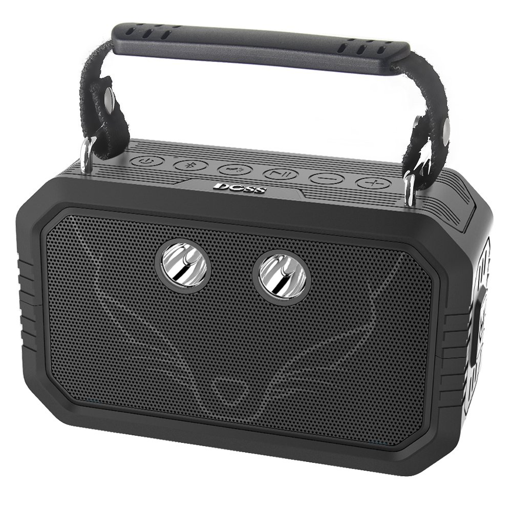 Parlante Bluetooth DOSS Wireless Portable con Waterproof IPX