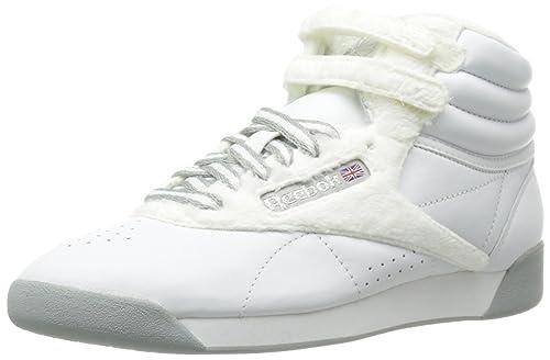 REEBOK FREESTYLE -Zapatillas Deportivas Mujer Clásicas Altas Blancas - Blanco, 38: Amazon.es: Zapatos y complementos