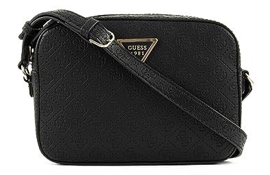 GUESS Kamryn Crossbody Top Black  Amazon.co.uk  Shoes   Bags 1c6f3b1cdb0c8