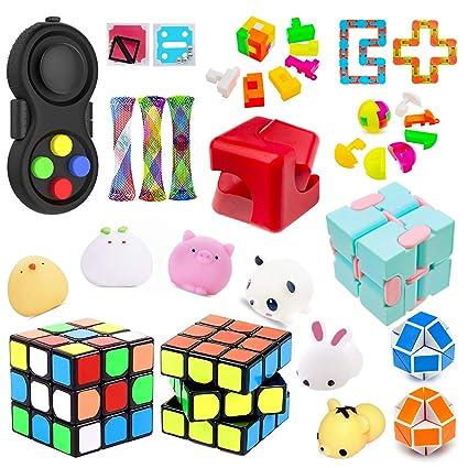 Amazon.com: H-Partner - Set de juguetes sensoriales, alivia ...