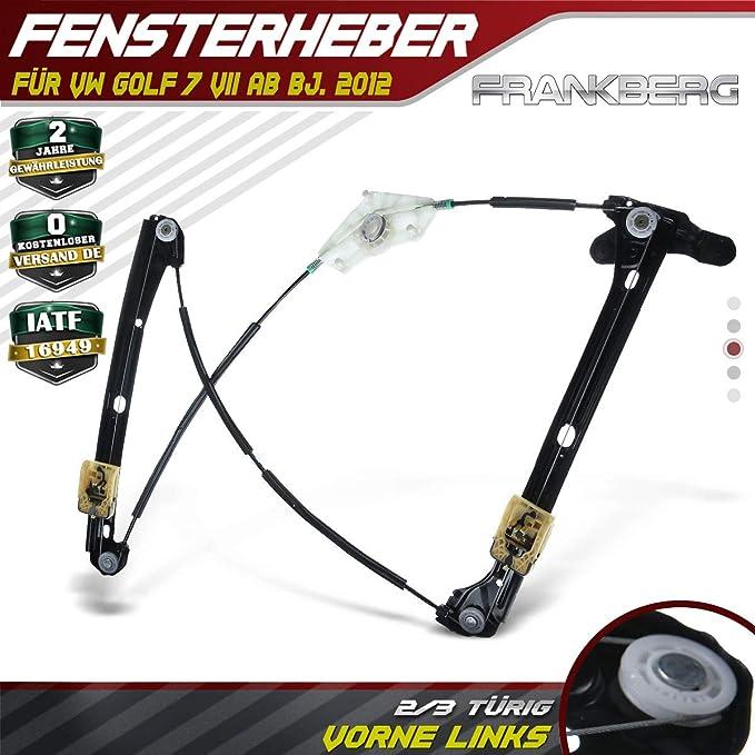 Frankberg Fensterheber Elektrisch Vorne Links Für Golf 7 Vii 5g1 Ba5 2 3 Türig 2012 2019 5g3837461e Auto