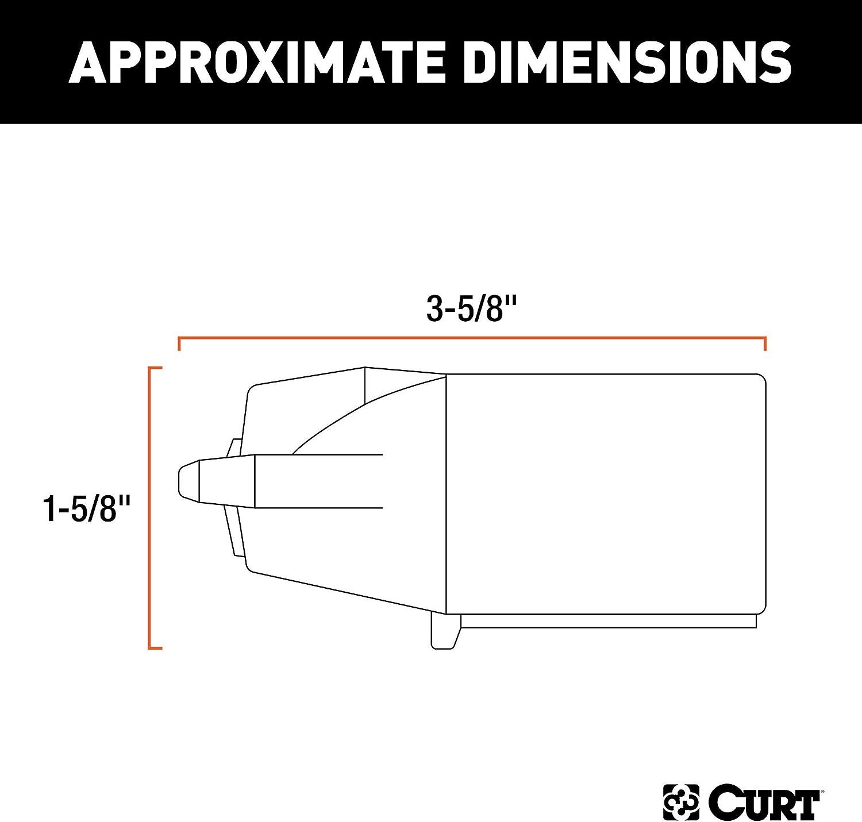 Amazon.com: CURT 58140 Trailer-Side 7-Pin RV Blade Wiring Harness  Connector: AutomotiveAmazon.com