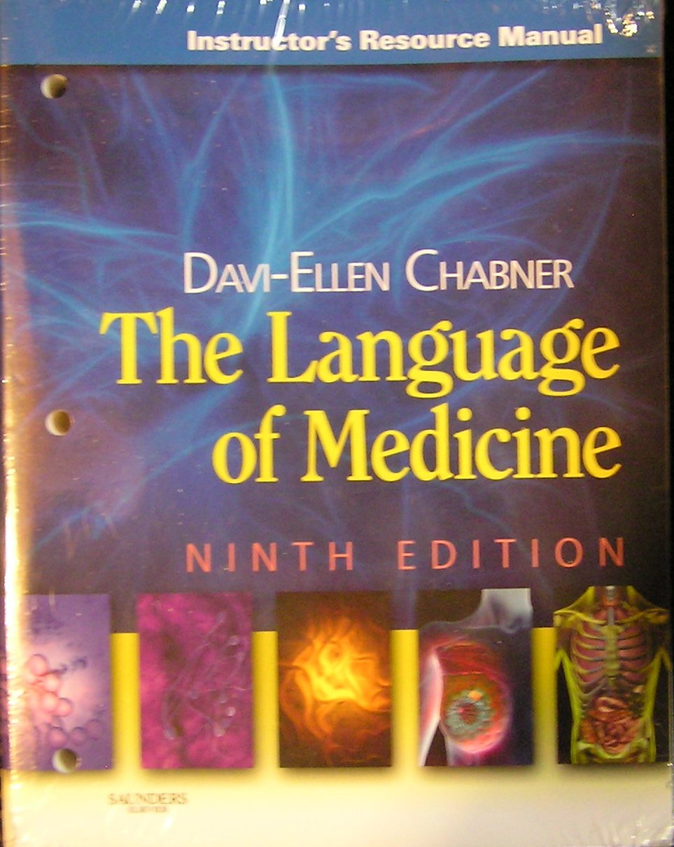 The Language of Medicine: Instructor's Resource Manual, 9th Edition PDF