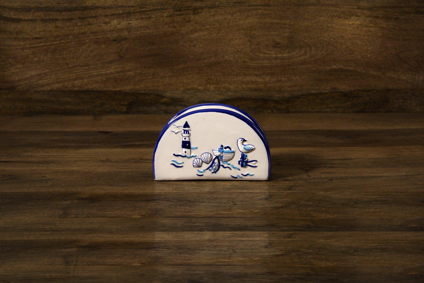 Napkin Holder – Marine Cottage Collection
