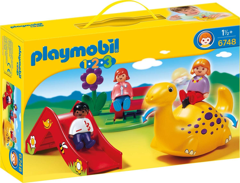 Playmobil 6748 - 1.2.3 Parque Infantil: Amazon.es: Juguetes y juegos