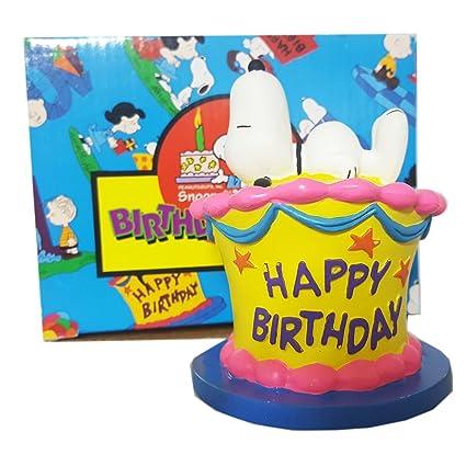 Amazoncom Peanuts Flamebro Birthday Bash Snoopy Birthday Cake