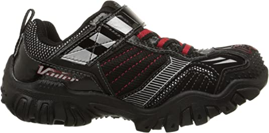 Skechers Kids Star Wars Damager III Hypernova Light Up Sneaker (ToddlerLittle Kid), BlackRed, 1 M US Little Kid