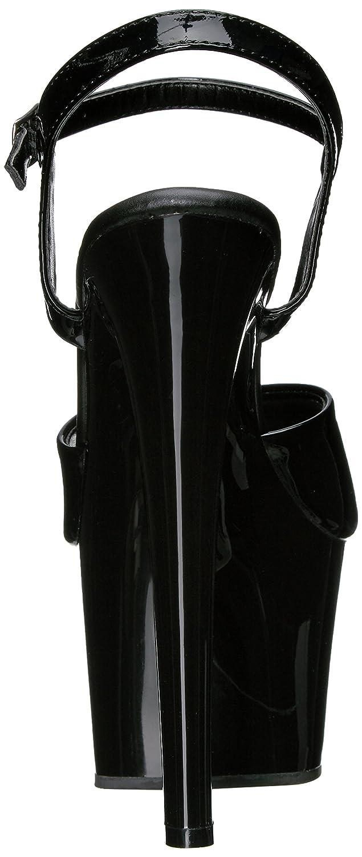 Pleaser Women's Sky309vl/B/M B(M) Platform Sandal B014IZRMBM 5 B(M) Sky309vl/B/M US|Black Patent/Black f22646