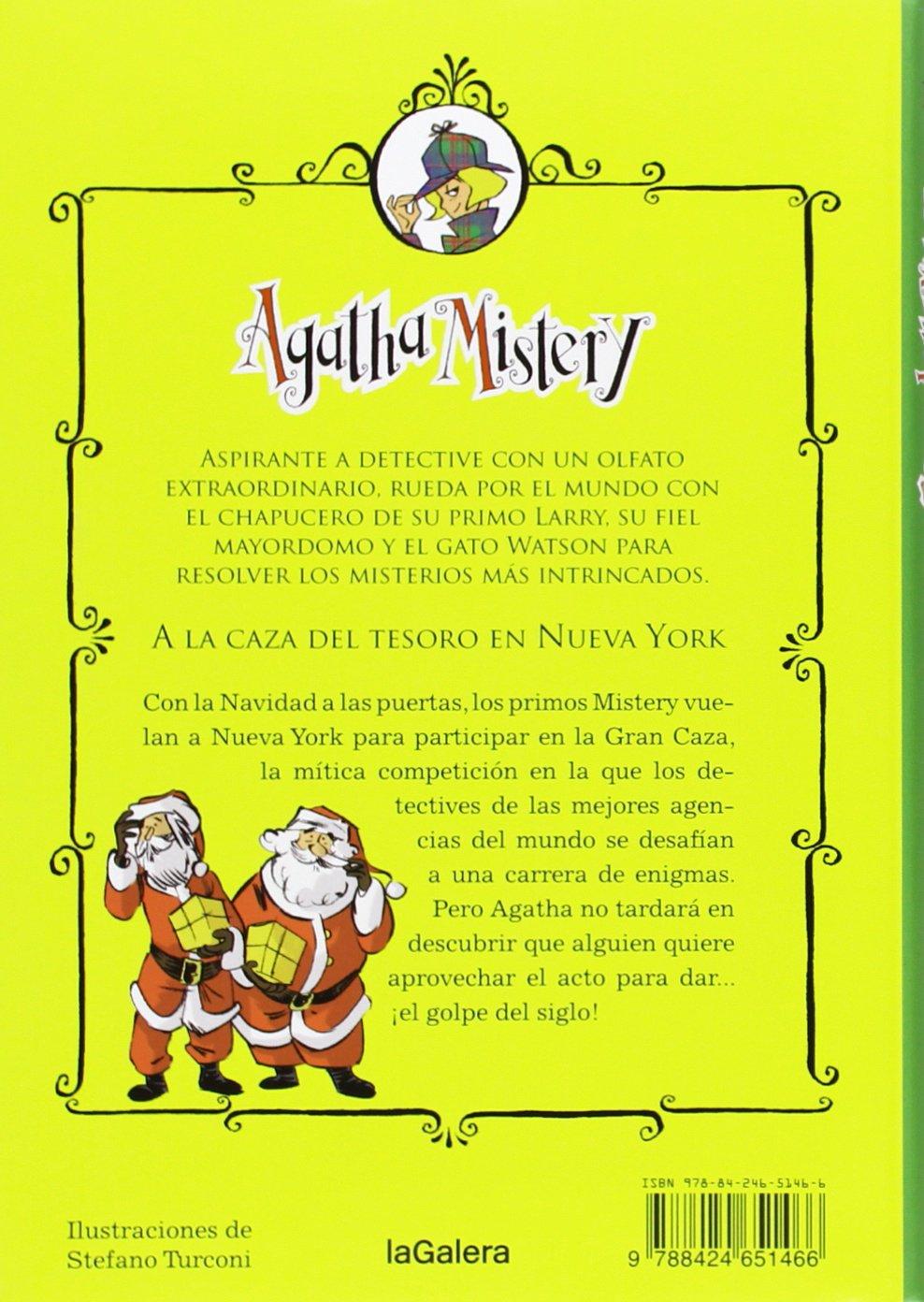 Agatha Mistery: A la caza del tesoro en Nueva York # 14 (Spanish Edition): Sir Steve Stevenson, La Galera, Stefano Turconi: 9788424651466: Amazon.com: Books