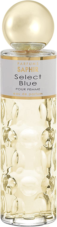 PARFUMS SAPHIR Select Blue, Agua de Perfume con vaporizador para Mujer, 200 ml