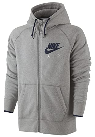 Nike Swoosh Air Hoodie Fleece Kapuzen Pullover Club Hoody Sweatshirt