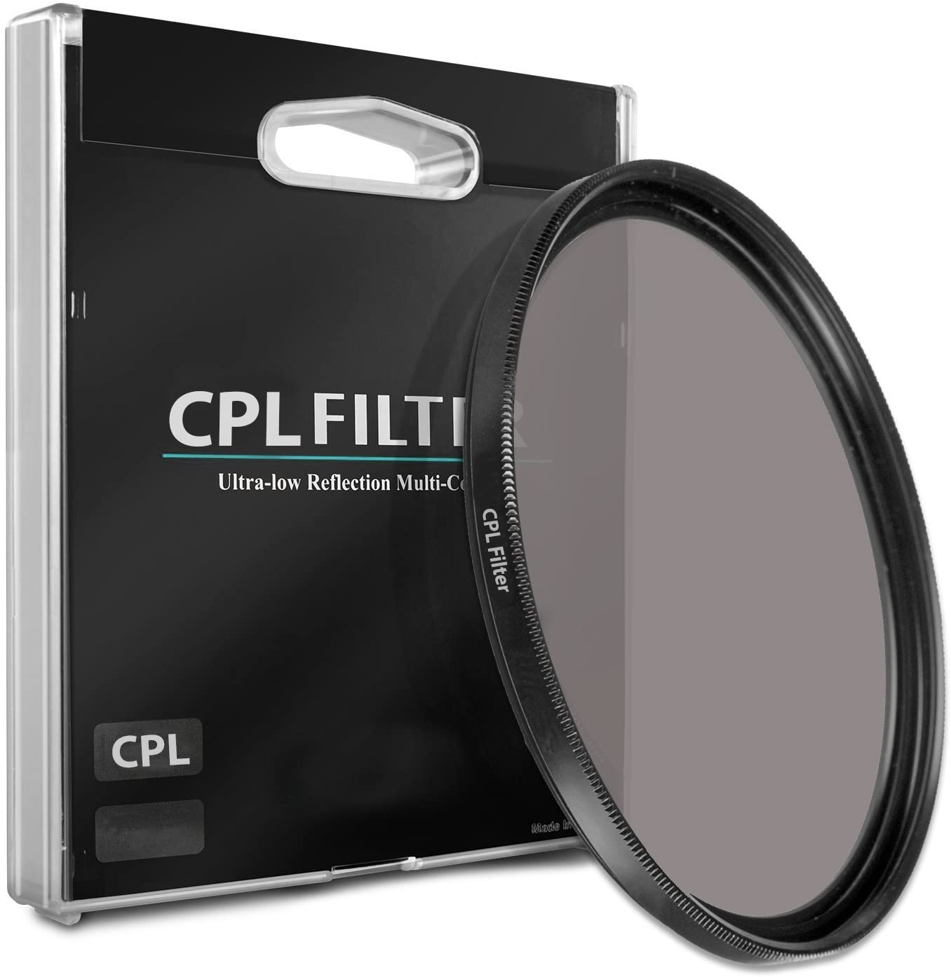 CPL Circular Polarizer Glare Shine Polarizing Filter for Nikon PC-E NIKKOR 24mm f//3.5D ED Lens
