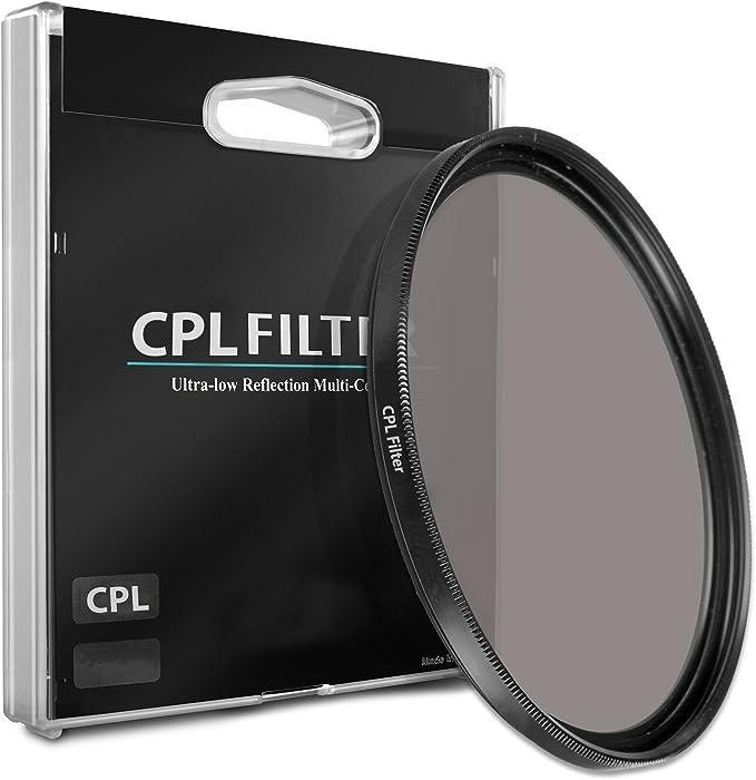 Lens 53mm CPL Circular Polarizer Glare Shine Polarizing Filter for Fujifilm XF 35mm F1.4 R