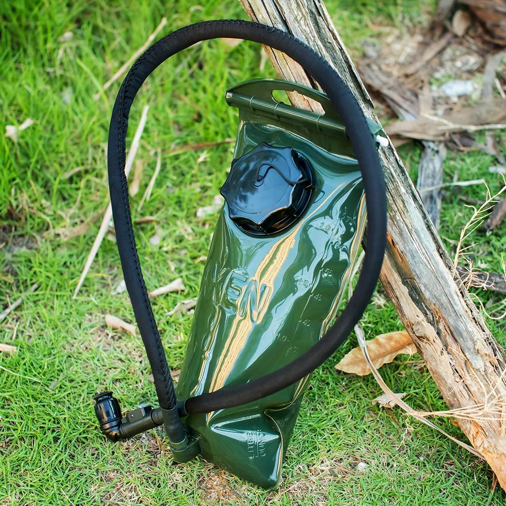 J.CARP 2L Water Bladder, Hydration Pack Bladder, Strong Premium Material