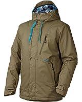 Oakley Men's Division Jacket, Worn Olive, Large