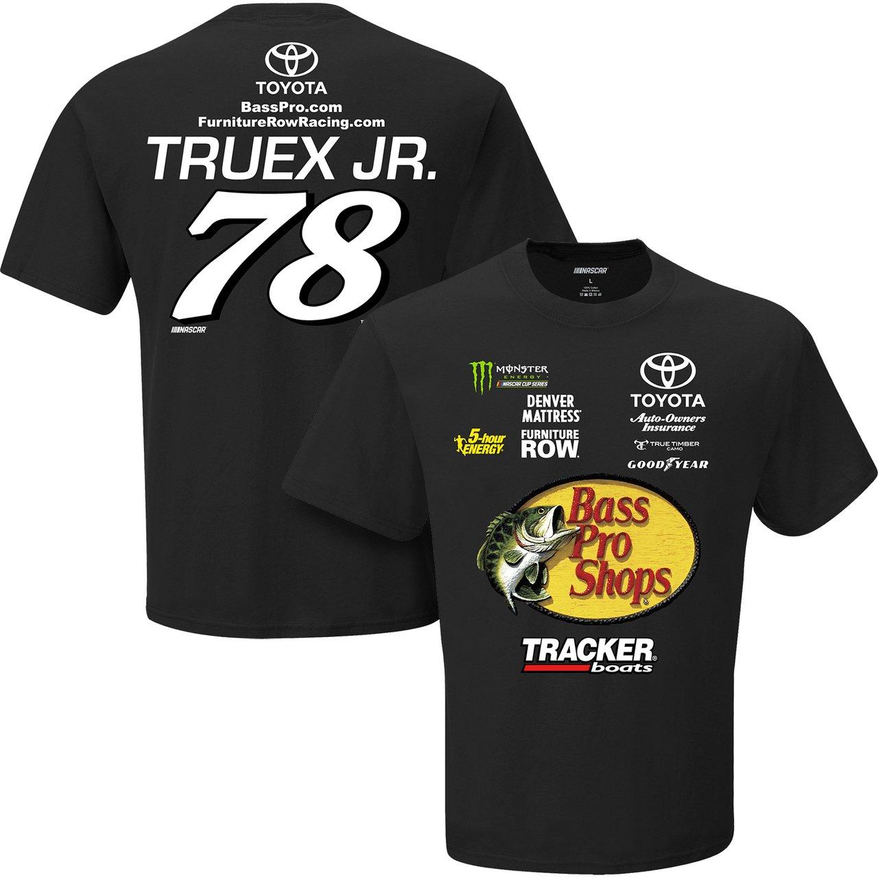 amazon com nascar 78 martin truex jr adult uniform racing t shirt