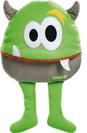 Schmidt Spiele Freddy OGrey Monstruo Verde, Gris - Juguetes de Peluche (Monstruo