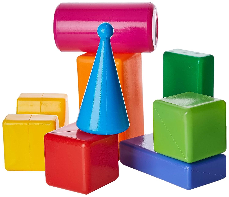 Tupiko Tupiko8 8 Piece Blocks, Multi-Color