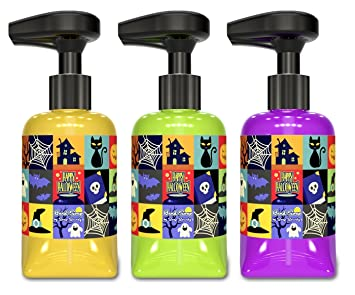 soap soundz musical hand soap halloween set 3 bottles
