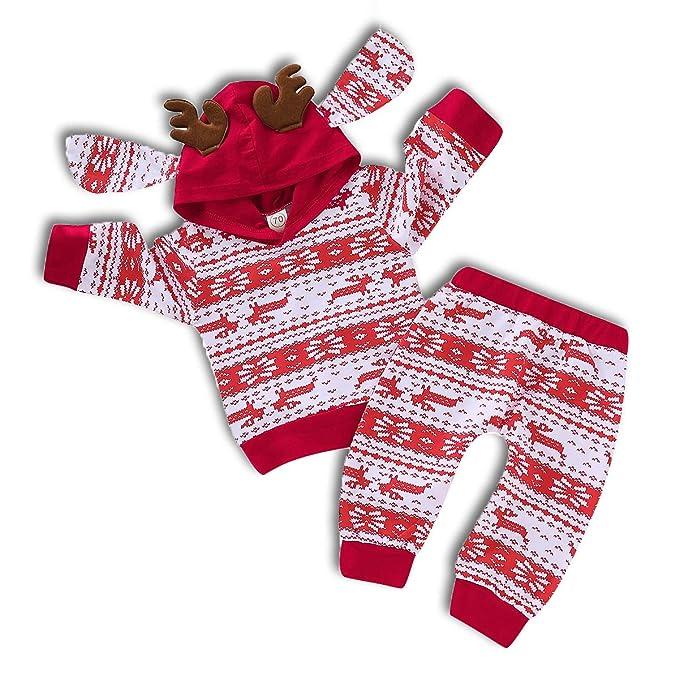 Amazon.com: ZOELNIC - Conjunto de ropa con capucha y ...