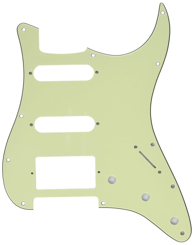 Kmise z4906 HSS 3本ギターピックガードスクラッチプレートミントグリーンfor Fender Strat交換用   B00RT8H1X0