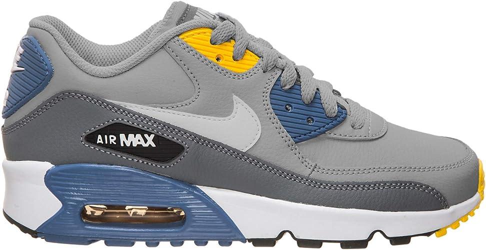 Nike Air MAX 90 Tenis para Mujer, Gris, 38 M EU: Amazon.com ...