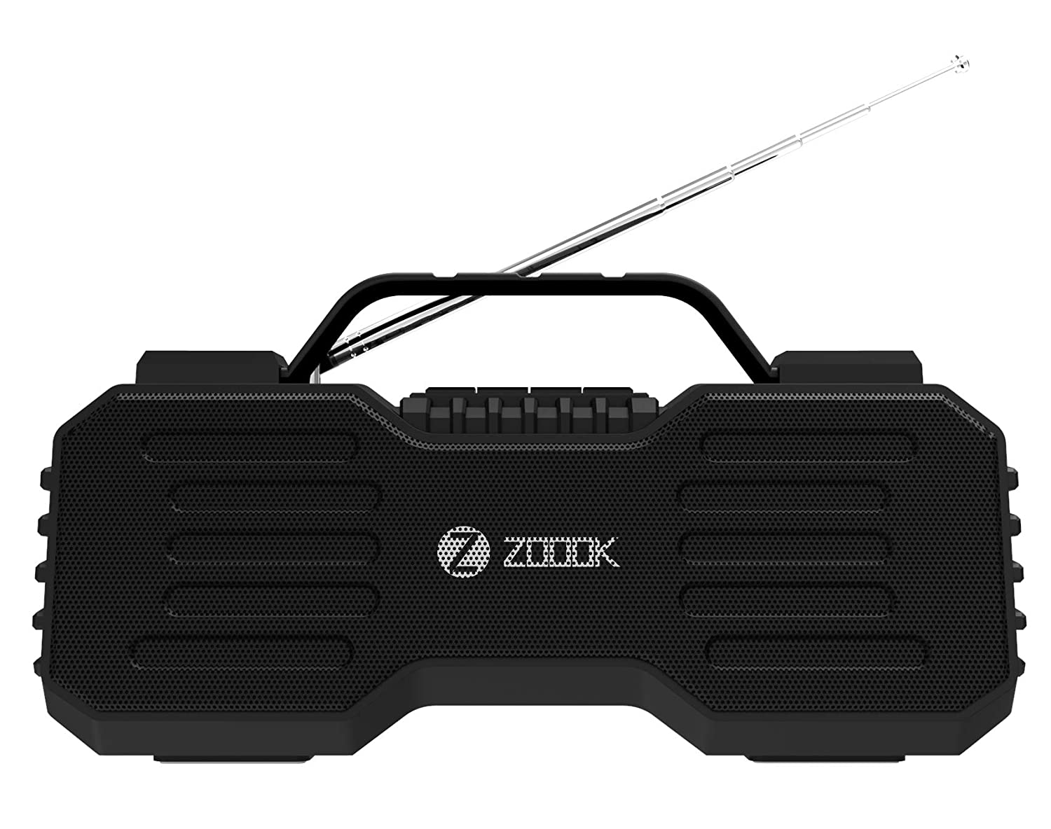 Zoook Rocker Boombox Atom Portable Wireless Bluetooth Speaker Cum Radio FM