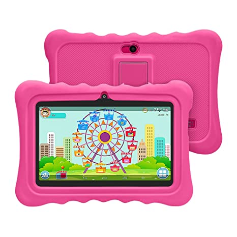 Amazon.com: Yuntab Kids Tablet Q88h 7 inch Allwinner a33,1.5 ...