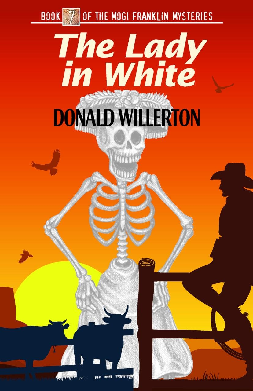 The Lady in White: Book 7 of the Mogi Franklin Mysteries pdf epub